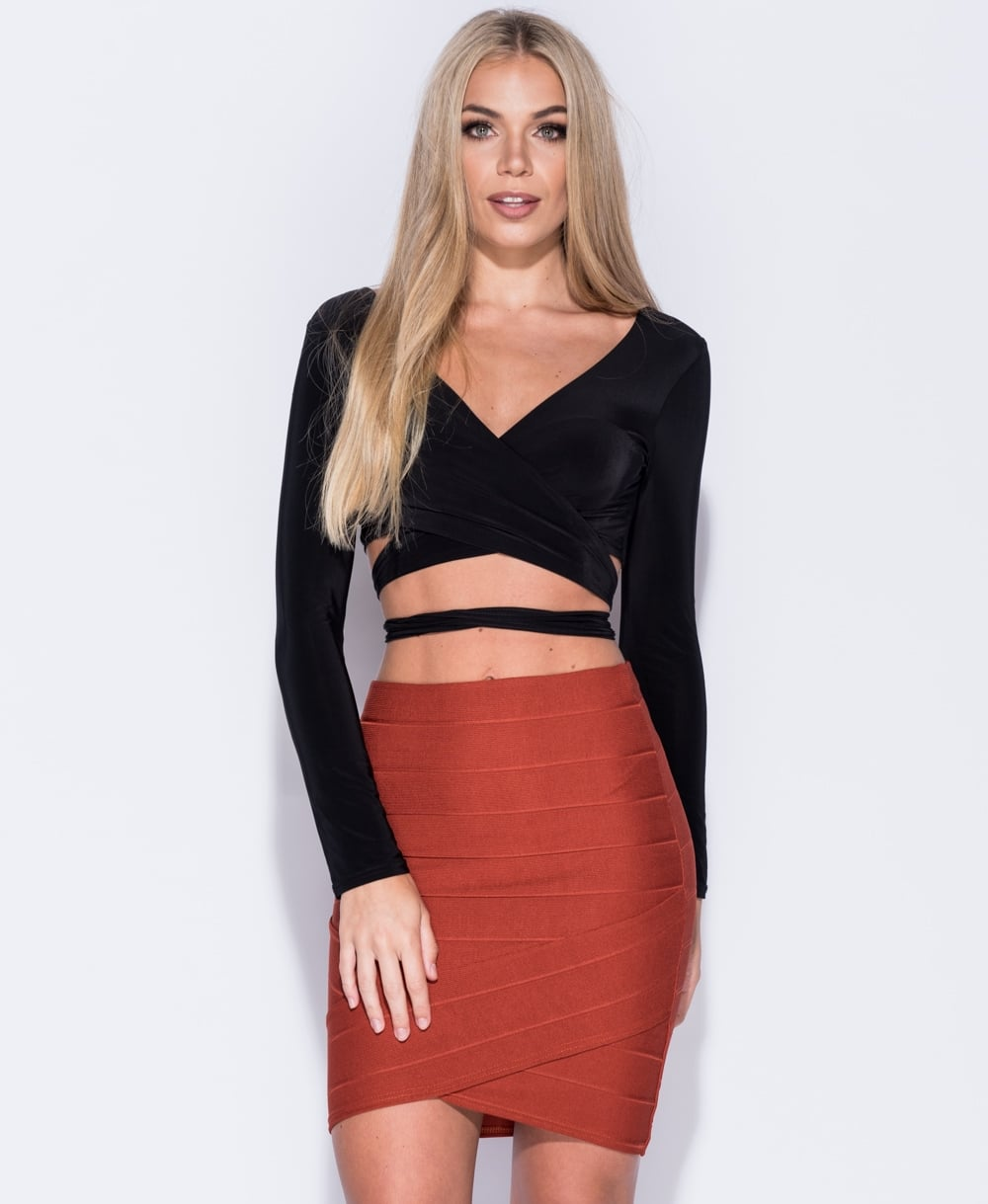 Sia Bandage Mini Skirt